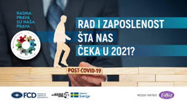 Orbović: Radnici u 2021. ulaze sa velikom dozom neizvesnosti